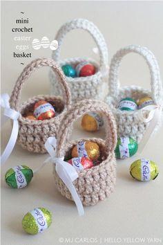 Süße #Osterkörbchen als kleine Geschenke