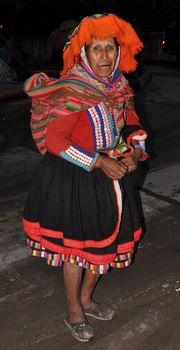 Vestido tradicional de Marcapata