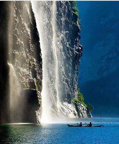 Ålesund waterfall, #Norway