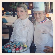 Just met Pastry Chef Claire Verneil at the @FairmontMC in Monte Carlo. Bravo Claire!