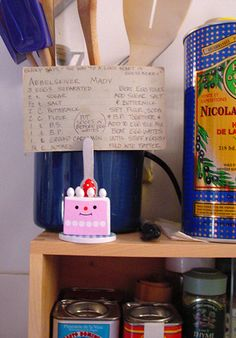 Decole - cake clip