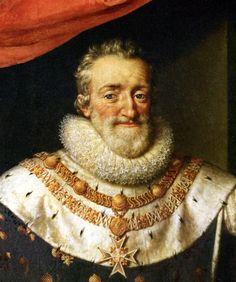 Henri IV, roi de France et de Navarre, par Frans Pourbus II.(younger) (1569–1622)-flemish painter