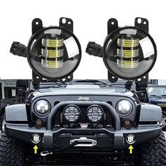 Cheap led fog light, Buy Quality fog light directly from China light for Suppliers: 1 Pair hot sale Black 4 inch Front Bumper Led Fog Light For Jeep Wrangler JK For Dodge Magnum 2007 Jeep Wrangler, Dodge Magnum, Dodge Chrysler, Lamp Bulb, Led Headlights, Car Brands, Car Lights, Happy Fathers Day, Watch