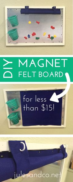 Make a DIY magnet fe