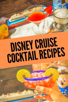 Fabulous Disney Cruise Cocktail Copycat Recipes. Disney Cocktail recipes with and without alcohol that you can make at home for a party or for the family! Disney Halloween Cruise, Disney Fantasy Cruise, Disney Dream Cruise, Disney Cruise Ships, Family Vacation Destinations, Cruise Vacation, Disney Vacations, Family Vacations, Family Travel
