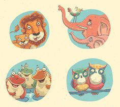 Lulu - Children's Book by Steve Simpson, via Behance