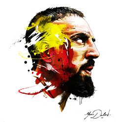 Illustration de Franck Ribery