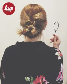 easy hairstyle wit the hup hairtool