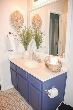 Most Design Ideas Royal Blue Bathroom Sets 6 Pictures, And Inspiration – Modern House Royal Blue Bathrooms, Blue Small Bathrooms, Royal Bathroom, Blue Bathrooms Designs, Bathroom Designs Images, Bathroom Tile Designs, Vanity Bathroom, Bathroom Sets, Blue Brown Bathroom