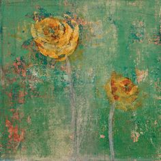 Green Floral I' by Maeve Harris | Fine Art Prints | GalleryDirect