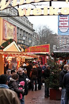 Christmas Market in Amsterdam, from Bright Bazaar. Also a post about the Christmas Bazaar in Dordrecht.