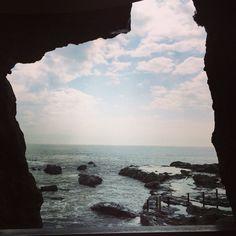 Enoshima Cave at Enoshima Island