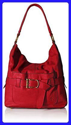 FRYE Kayla Knotted Hobo Bag, Red, One Size - Hobo bags (*Amazon Partner-Link)