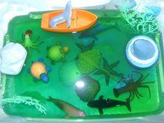 Estimulando meus filhos: Caixas sensoriais com gelatina