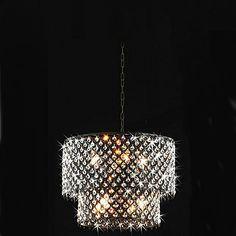 moderna 8 - lampade a sospensione a luce con gocce di cristallo – EUR € 199.99