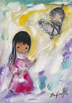 DeGrazia® - Bell Of Hope - Gallery Print  12 x 9. $17.95