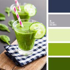 greenery, бирюзовый и серо-синий, болотный, весенние сочетание цветов, насыщенный зеленый, нежный салатовый, оттенки зеленого, салатовый, сине-серый цвет, тёмно-зелёный, цвет базилика, цвет зелени, цвета Pantone 2017.
