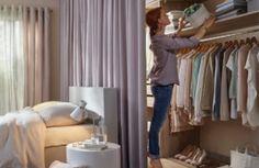 10 Hidden Closet Ideas For Small Bedrooms Ideas De Closets, Closet Ideas, Studio Apartment Organization, Hidden Closet, Small Master Bedroom, Small Bedrooms, Closet Storage, Decoration, Home Art