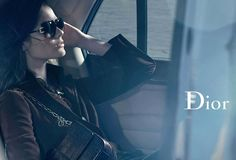 Dior Eyewear Fall/Winter 2011/12 featuring Monika Jac Jagaciak - Rougeberry Fashion