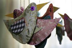 Cute paper project;  Freezeframe blog