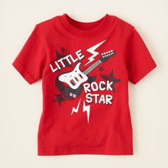 baby boy - graphic tees - rock star graphic tee | Children's Clothing | Kids Clothes | The Children's Place $5