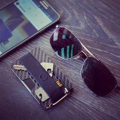 n wallet carbon fiber, minimalist wallet, slim, key holder, key chain