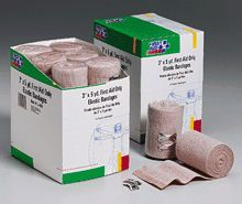 @ShopAndThinkBig.com - Comparable To The Ace? Bandage, Our Elastic Bandage Is Designed For Supporting, Protecting And Providing Moderate Pressure To Sprains And Strains. Its Controlled Stretch Retains Strength And Elasticity. It Is Also Ideal For Holding Dressings In Place. A 100% Latex Free Elastic Bandage Individually Poly-Wrapped With 2 Clips.……