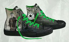 DC Comics x Converse Chuck Taylor All Star Batman Arkham City- Of course, I want these. - Visit to grab an amazing super hero shirt now on sale! Joker Converse, Converse Sneakers, High Top Sneakers, Converse Dc Comics, Converse Outlet, Converse Chuck Taylor All Star, Converse All Star, Mode Shoes, Slippers