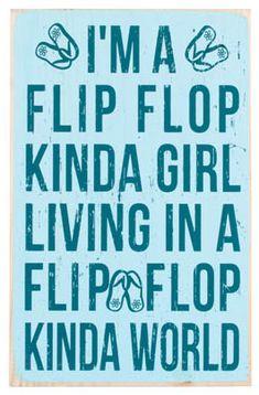 Flip Flop Girl.....love them!! Happy Summer, Summer Fun, Summer Sun, Fun in the Sun, Summertime, Summer!