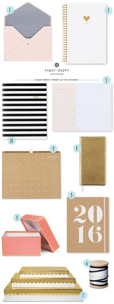 Quick Pick: Sugar Paper for Target 2015 / Oh So Beautiful Paper