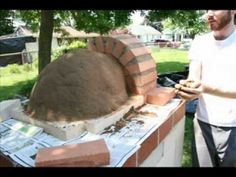 This is from Youtube .. + there is a bunch more on Earth Ovens! Paul's Earth Oven