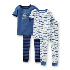 Carter's® 4-pc. Short-Sleeve Airplane Pajama Set – Boys 6m-24m  found at @JCPenney