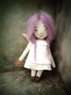 andílek - hadrová panenka - doll