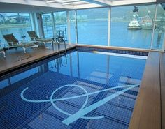 A European river cruise ship with a swimming pool? That's right, and its indoor! Not all river cruise ships are created equal. Contact us today to assist you FREE with your river cruise. We are Certified River Cruise Specialists! pete@rivercruiseguru.com  www.RiverCruiseGuru.com  #rivercruise