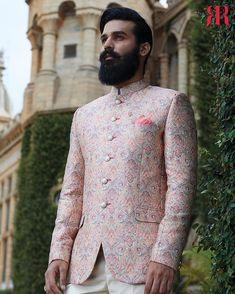 what colour are muslim wedding dresses Mens Wedding Wear Indian, Wedding Kurta For Men, Mens Indian Wear, Wedding Dresses Men Indian, Indian Groom Wear, Indian Men Fashion, Groom Fashion, Suit Fashion, Engagement Dress For Groom
