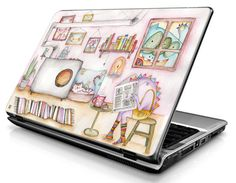Room colorful  Laptop Decals  Laptop Skins  Laptop by Musustore, Ft1700.00