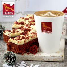 Red Velvet Cake and Insomnia Coffee Velvet Cake, Red Velvet, Coffee Company, Insomnia, Brewing, Product Launch, Breakfast, Christmas, Food