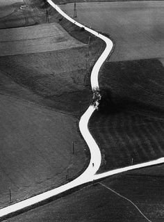 Country Road in Kärnten , 1957, Toni Schneiders. Germany (1920 - 2006).  a man with a past
