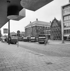 Bus station around 1960