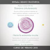 Curso: Economía circular y Gestión de residuos. Navarra