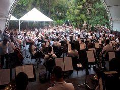Parque Municipal Américo Renné Gianetti tem série de concertos no fim de semana dos dos dias 10 e 11 de maio.