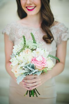 DIY Summer - photo by Izzy Hudgins http://ruffledblog.com/inspiring-summer-wedding-looks #bouquets #weddingbouquet