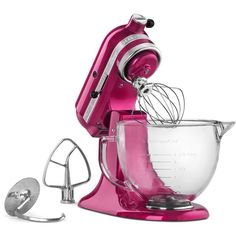 Cook for the Cure! KitchenAid KSM155 5 Qt. Stand Mixer ($615) ❤ liked on Polyvore featuring home, kitchen & dining, small appliances, raspberry ice, kitchenaid standmixer, kitchen aid standing mixer, kitchenaid standing mixer, kitchenaid stand mixer and kitchenaid small appliances