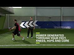 Hockey Off-Ice Training Drill #5: Medicine Ball Exercises for Power