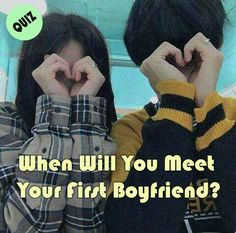 This love quiz will tell you When Will You Meet Your First Boyfriend Teen Boyfriend, Boyfriend Quiz, I Have A Boyfriend, Dream Boyfriend, Buzzfeed Quiz Crush, Buzzfeed Quiz Funny, Quizzes Buzzfeed, Boyfriends Be Like, Types Of Boyfriends