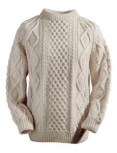 34e9492b24 Moran Clan Sweater Aran Knitting Patterns, Knitting Kits, Knitting Wool,  Hand Knitting,
