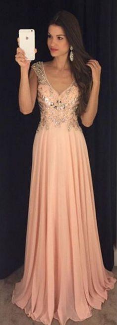Backless Prom Dresses,Beading Prom