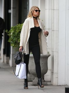 CHARLOTTE MCKINNEY Out Shopping in Beverly Hills 01/27/2016