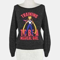 Training To Be A Magical Girl | HUMAN | T-Shirts, Tanks, Sweatshirts and Hoodies