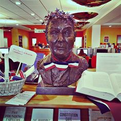 #FrBart is ready for #ConstitutionDay - are you? September 16 is Constitution Day this year! #StonehillLibrary #Stonehill